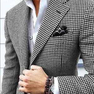 Brooks Brothers Wool Houndstooth Sports Jacket
